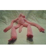"Ty Pinkys Pink Monkey Chimp Hanging Velcro Plush Soft Toy Stuffed Animal 17"" - $38.99"