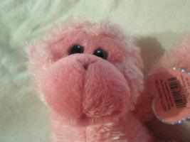 "Ty Pinkys Pink Monkey Chimp Hanging Velcro Plush Soft Toy Stuffed Animal 17"" image 7"