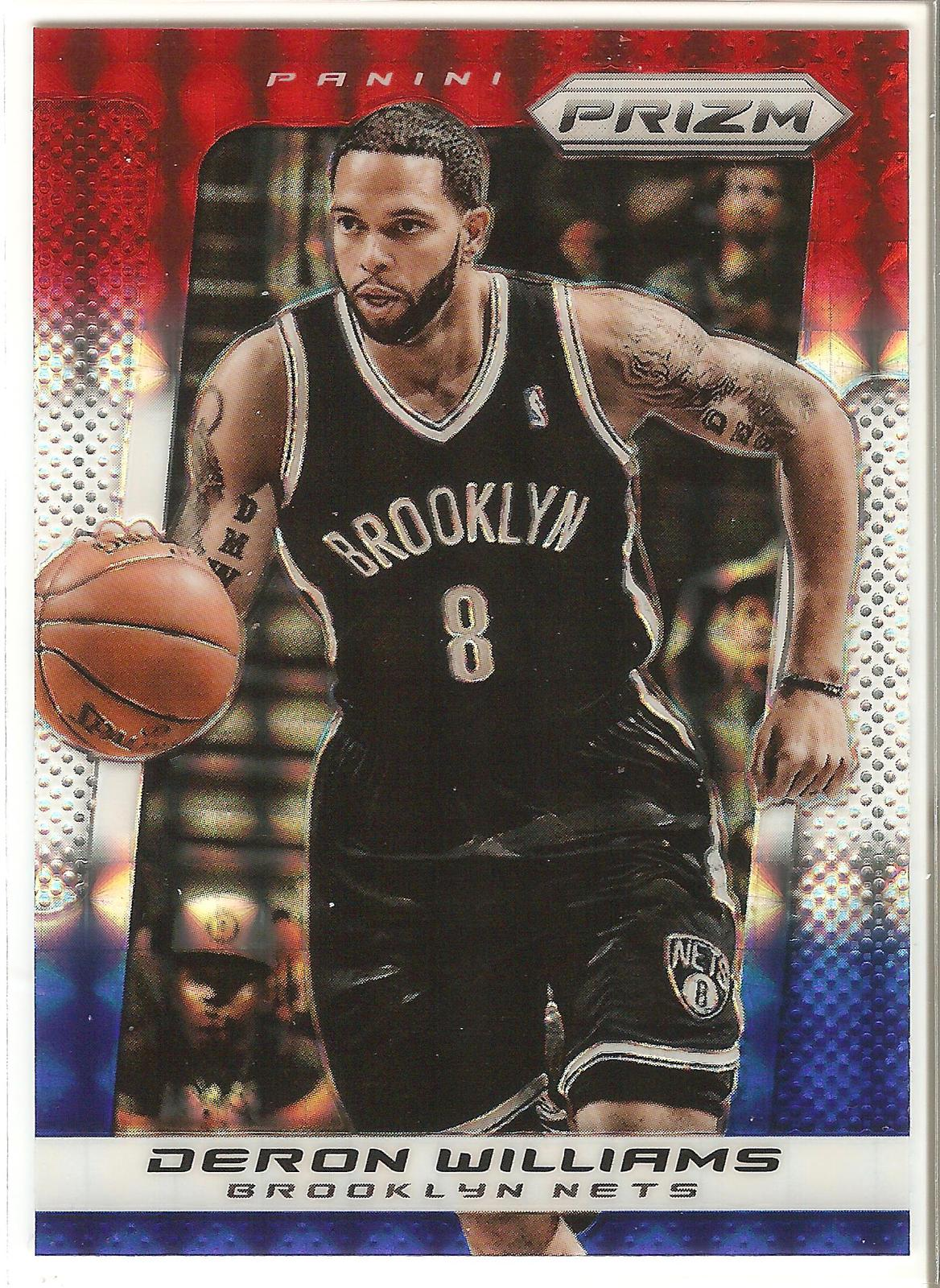 Deron Williams Prizm 13-14 #139 Red White Blue Refractor Brookly Nets Dallas