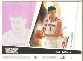 Yao Ming Luxury Box 05-06 #11 Houston Rockets China - $0.50