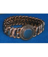 c 1907 American Queen GF245 GOLD Filled ENGRAVEABLE Sweetheart Bracelet ... - $119.99