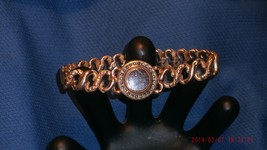 c 1907 American Queen GF245 GOLD Filled ENGRAVEABLE Sweetheart Bracelet by P K  image 6