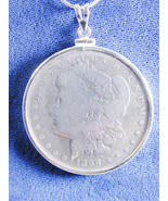 1215 Morgan Liberty Head 1899 US Silver Dollar Coin Jewelry- Coin is rem... - $113.85