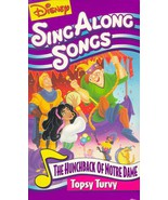Disney Sing Along Songs: Hunchback / Topsy Turvy [VHS] [VHS Tape] (1996)... - $9.99