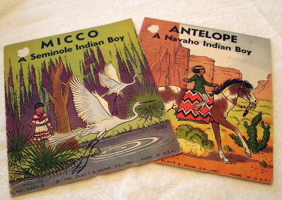Antelope and Micco Two Indian books for Children Platt & Munk 1935 image 1
