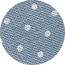 32ct Blue White Petit Point belfast linen 18x27 cross stitch fabric Zweigart - $16.65