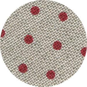32ct Natural Red Petit Point belfast linen 18x27 cross stitch fabric Zweigart
