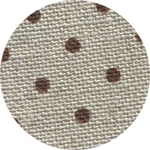 32ct Natural Brown Petit Point belfast linen 36x27 cross stitch fabric Z... - $32.40