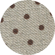 32ct Natural Brown Petit Point belfast linen 18x27 cross stitch fabric Zweigart - $16.20
