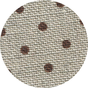 32ct Natural Brown Petit Point belfast linen 13x18 cross stitch fabric Zweigart