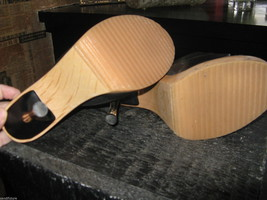 Fredericks's of Hollywood Polly Pollys slides mules shoes pinup VLV 6.5 UK4 36.5 image 4