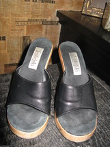 Fredericks's of Hollywood Polly Pollys slides mules shoes pinup VLV 6.5 UK4 36.5 image 3