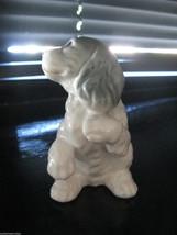 Vintage cute mid-century cocker spaniel puppy dog figurine porcelain china VLV image 4