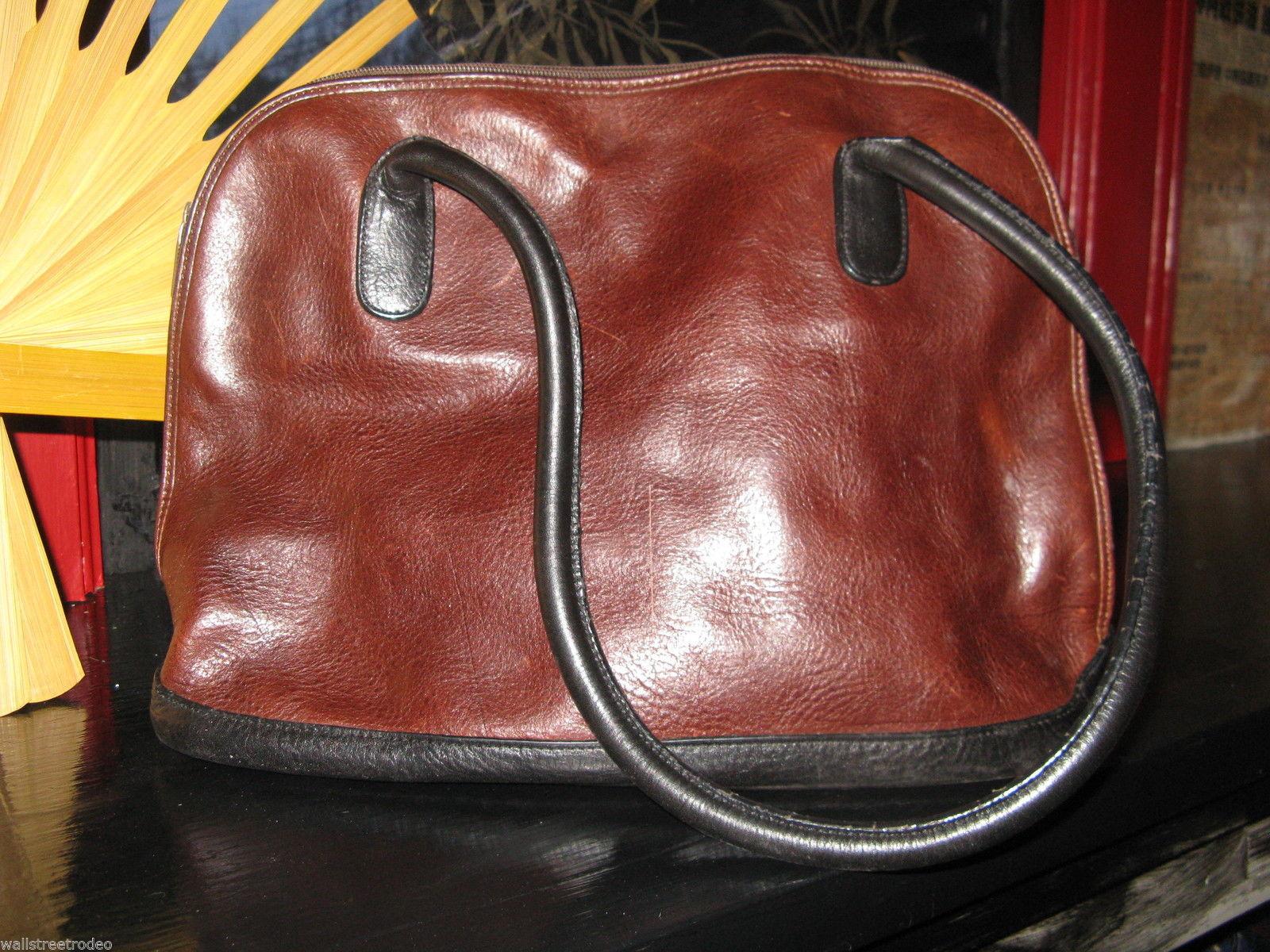 Ellington for Norm Thompson Portland leather alma handbag purse doctor bag