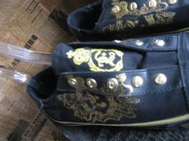 Elvis Presley 1977 skate sneakers slip-on shoes mens 5 UK4.5 38 chicks 7 VLV image 4
