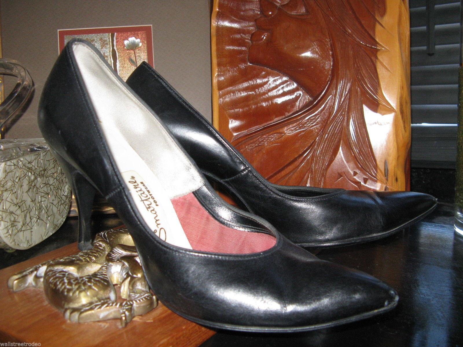 Smartaire vintage Debbie Renolds heels shoes 7 1/2 AAAA VLV 6 UK3.5 36 bonus VLV