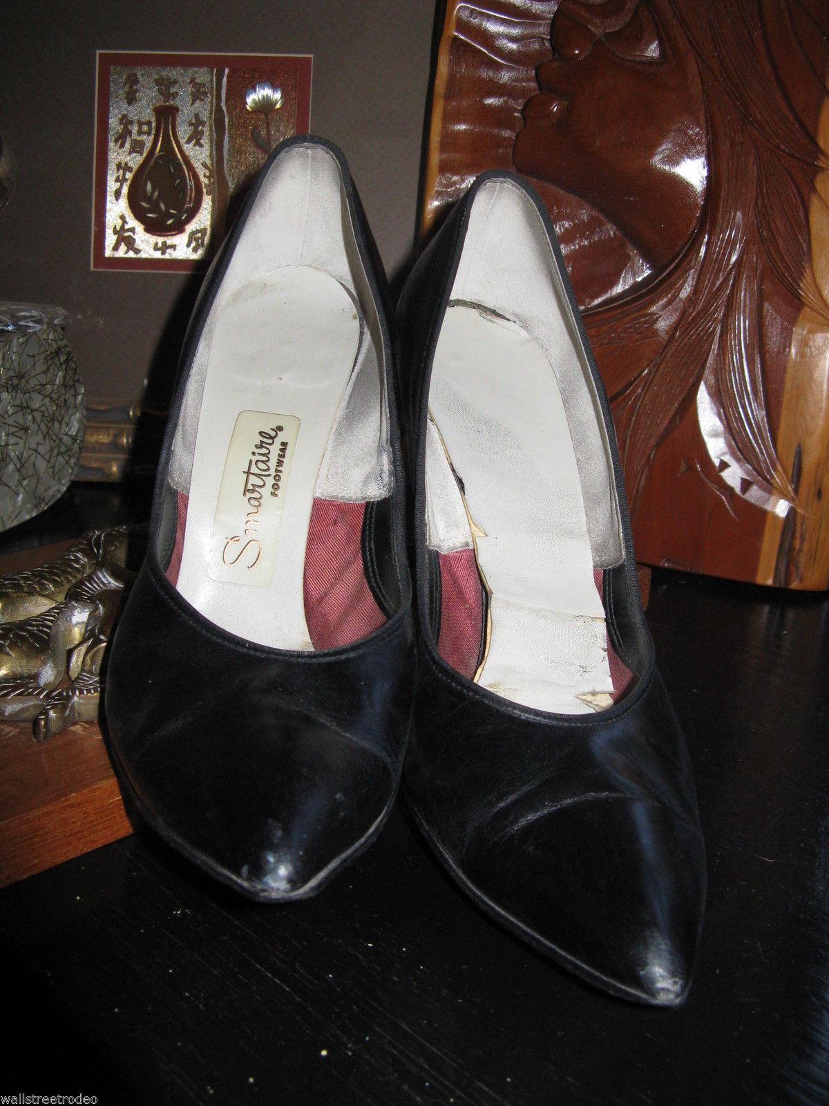 Smartaire vintage Debbie Renolds heels shoes 7 1/2 AAAA VLV 6 UK3.5 36 bonus VLV image 2