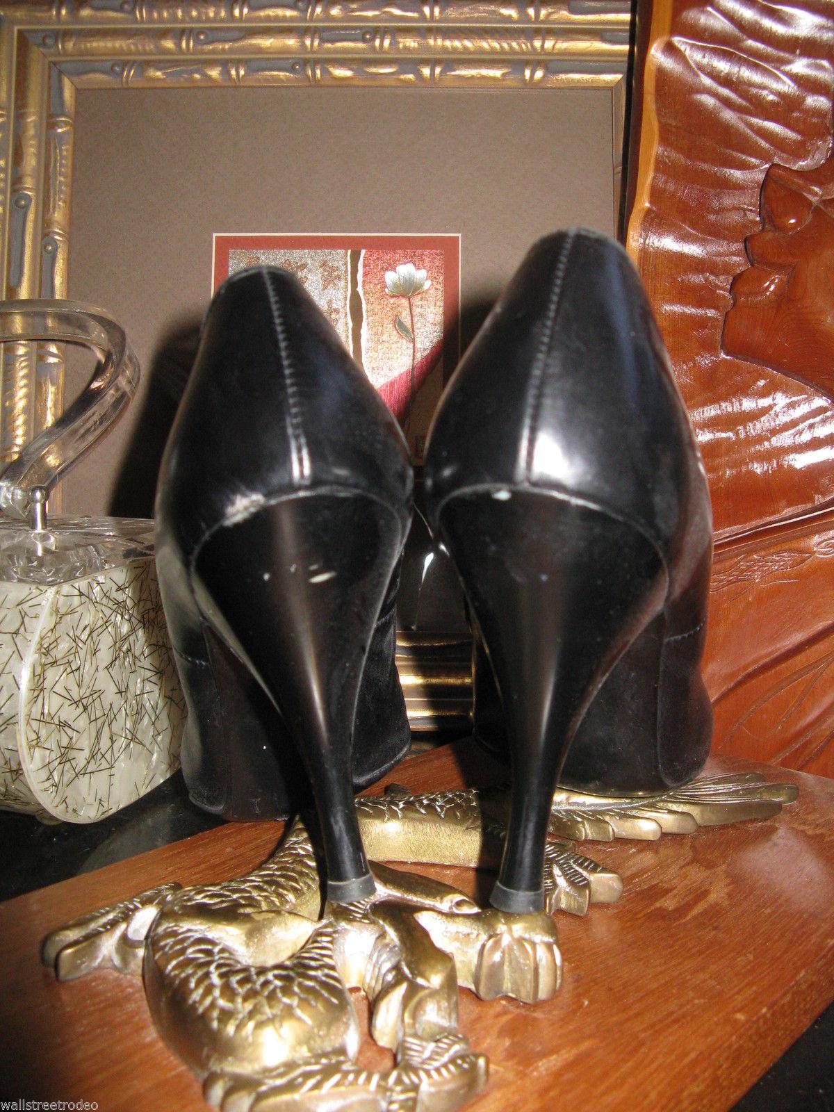 Smartaire vintage Debbie Renolds heels shoes 7 1/2 AAAA VLV 6 UK3.5 36 bonus VLV image 3
