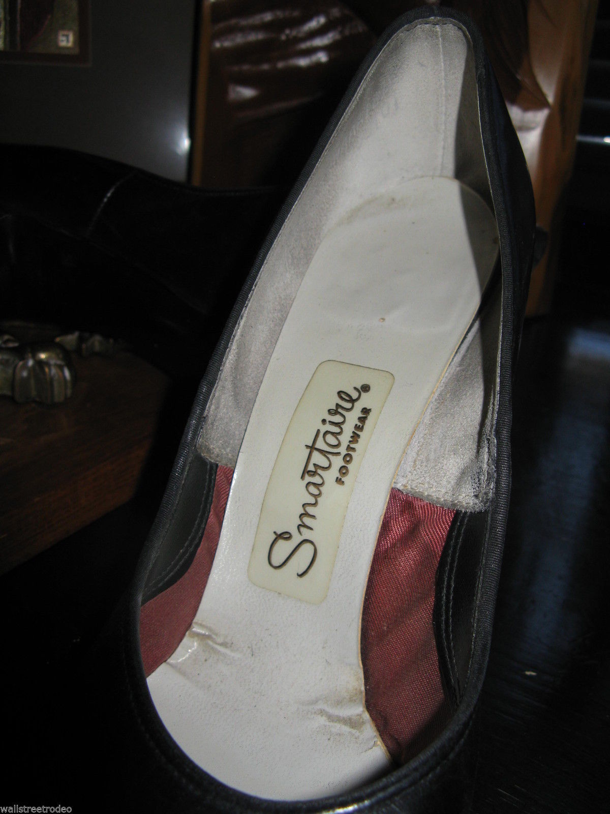 Smartaire vintage Debbie Renolds heels shoes 7 1/2 AAAA VLV 6 UK3.5 36 bonus VLV image 5