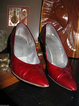 Smartaire vintage Debbie Renolds heels shoes 7 1/2 AAAA VLV 6 UK3.5 36 bonus VLV image 6