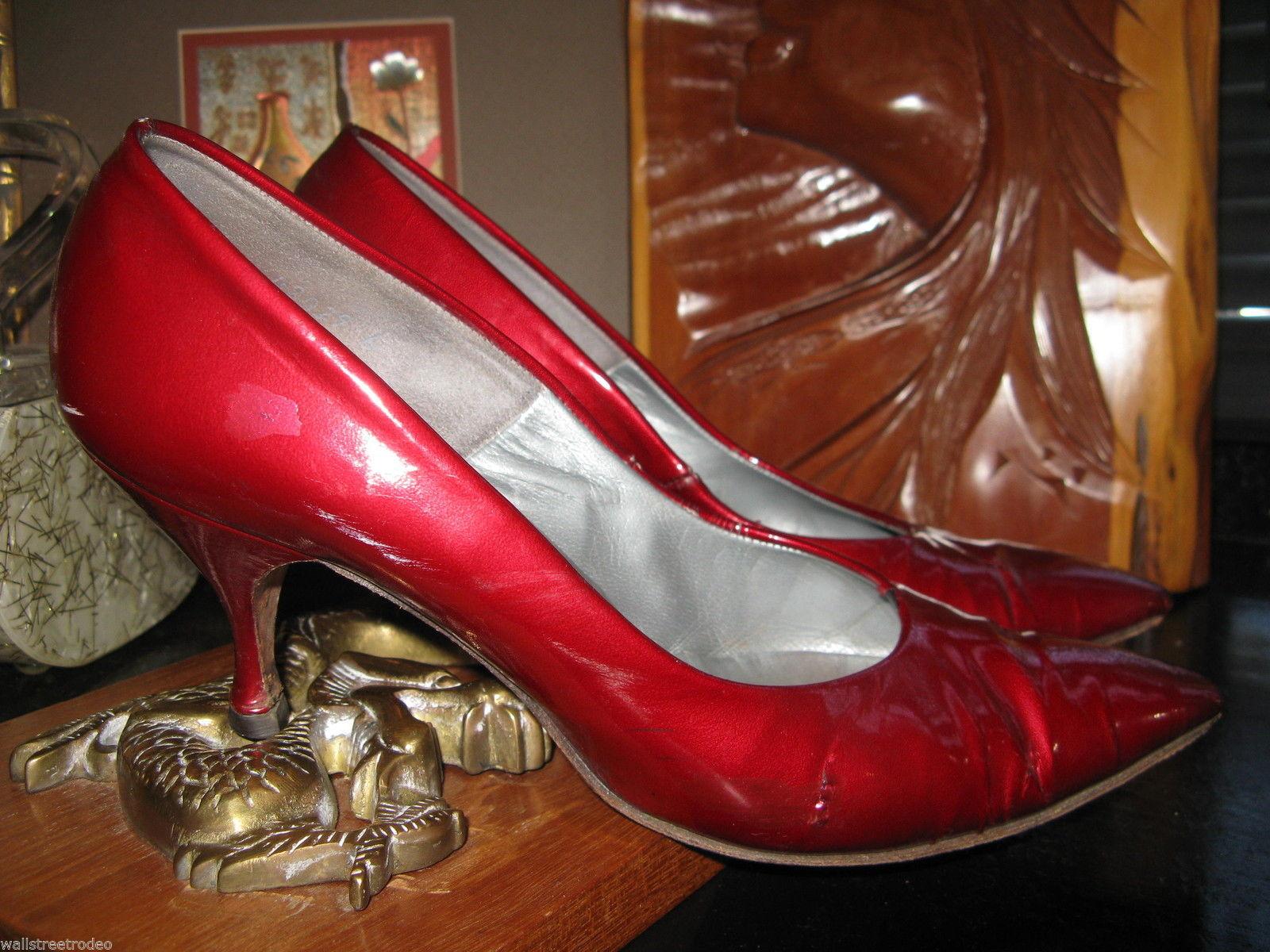 Smartaire vintage Debbie Renolds heels shoes 7 1/2 AAAA VLV 6 UK3.5 36 bonus VLV image 7