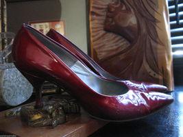 Smartaire vintage Debbie Renolds heels shoes 7 1/2 AAAA VLV 6 UK3.5 36 bonus VLV image 9