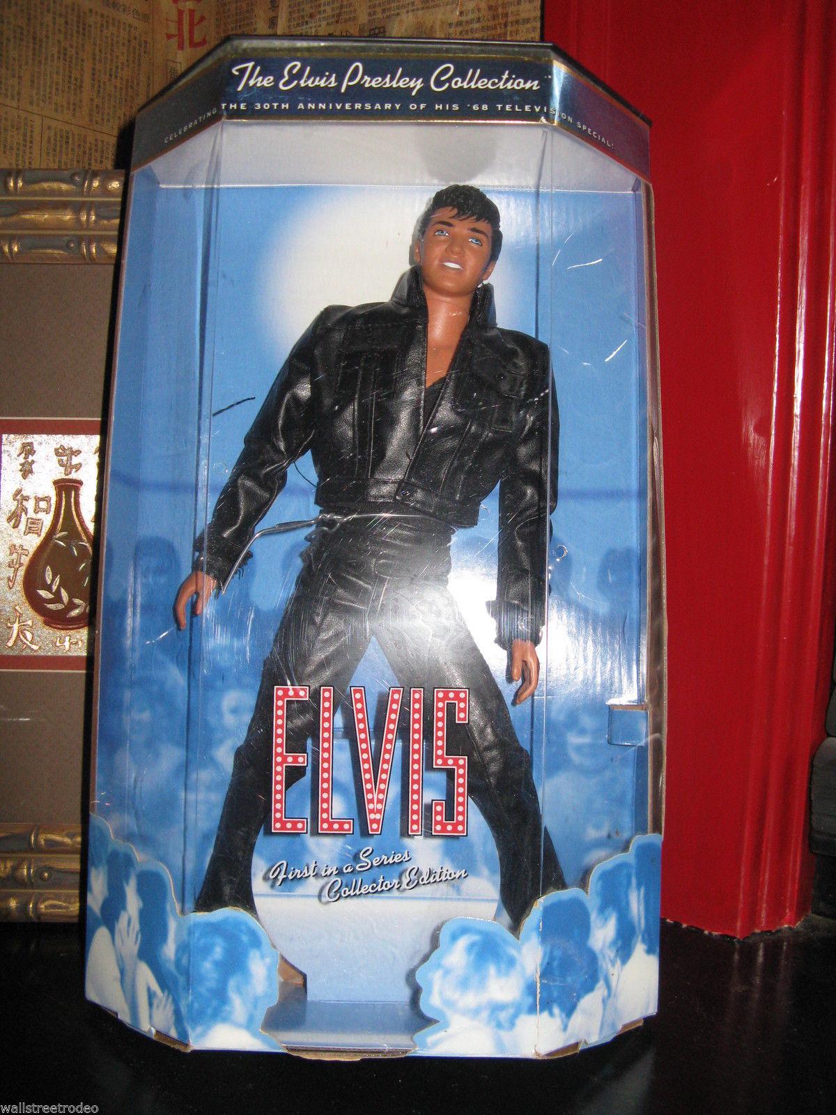 1998 Mattel Elvis Presley doll Comeback Special 1st  in Collection rockabilly