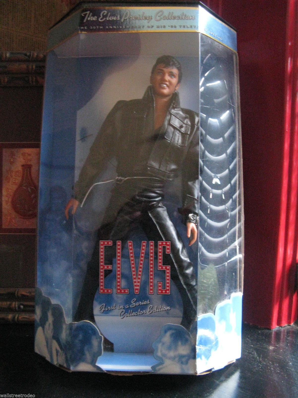 1998 Mattel Elvis Presley doll Comeback Special 1st  in Collection rockabilly image 2