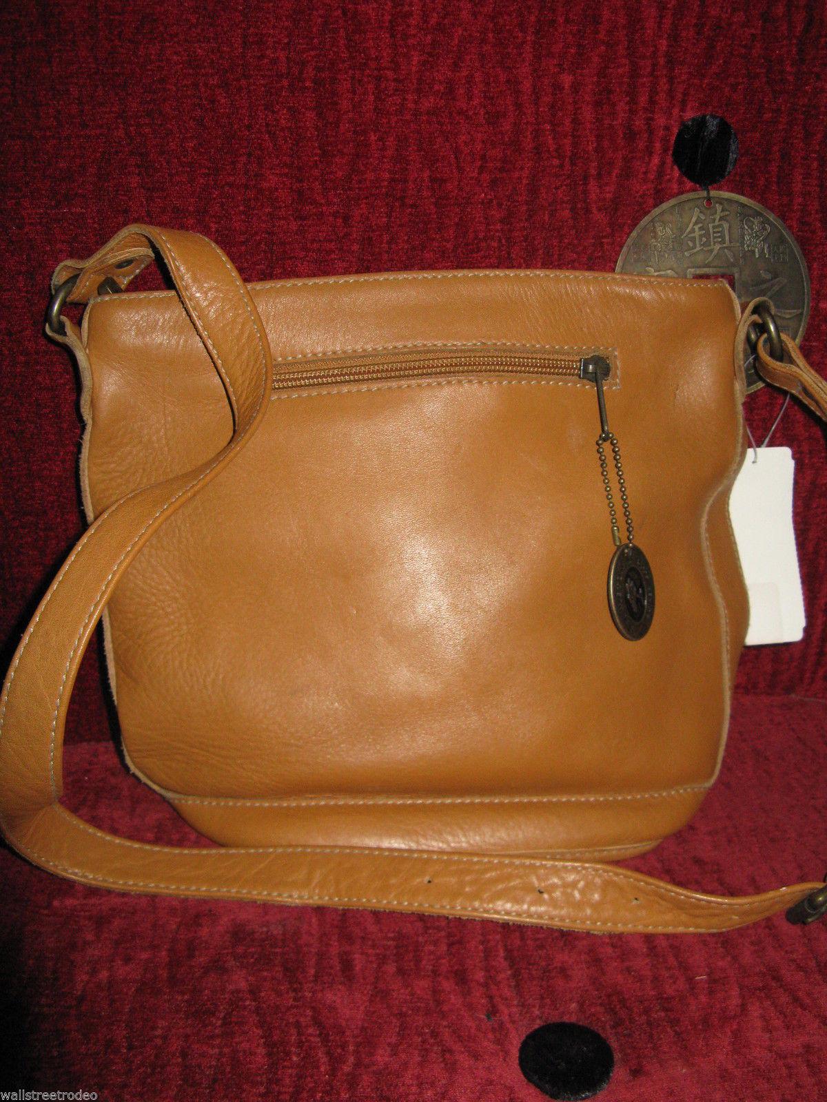 Ellington Portland  leather bucket bag tote handbag purse