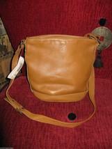 Ellington Portland  leather bucket bag tote handbag purse image 4
