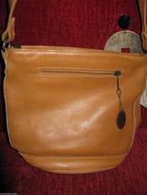 Ellington Portland  leather bucket bag tote handbag purse image 2