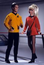 1996 Barbie Loves Ken set Star Trek by Robert Best NRFB where no doll has gone! image 1