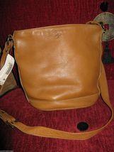Ellington Portland  leather bucket bag tote handbag purse image 5