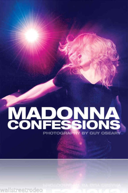 Madonna Confessions Guy Oseary Hardcover Photo coffee table book 2008 new