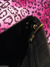 Vintage 80s glitter zebra disco clutch punk handbag image 2