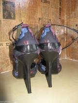 Casadei stiletto chrysanthemum pinup sling back shoes heels 6 UK3.5 36 image 4