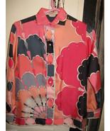 Vintage Emilio Pucci Saks fifth Avenue Iconic pop art silk 1960s Italy s... - $2,111.12