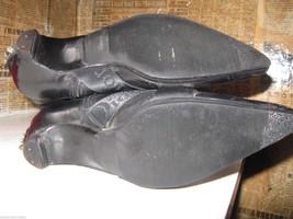 Dior biker logo quilted butter leather motorcylce punk runway boots 6 36 UK3.5 image 3