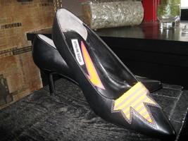 Extra-Fine Sugar punk grunge new wave lightning stiletto heels shoes 7 UK5 38 image 1
