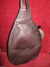 Ellington Portland  leather mini backpack rucksack sling tote handbag purse image 1