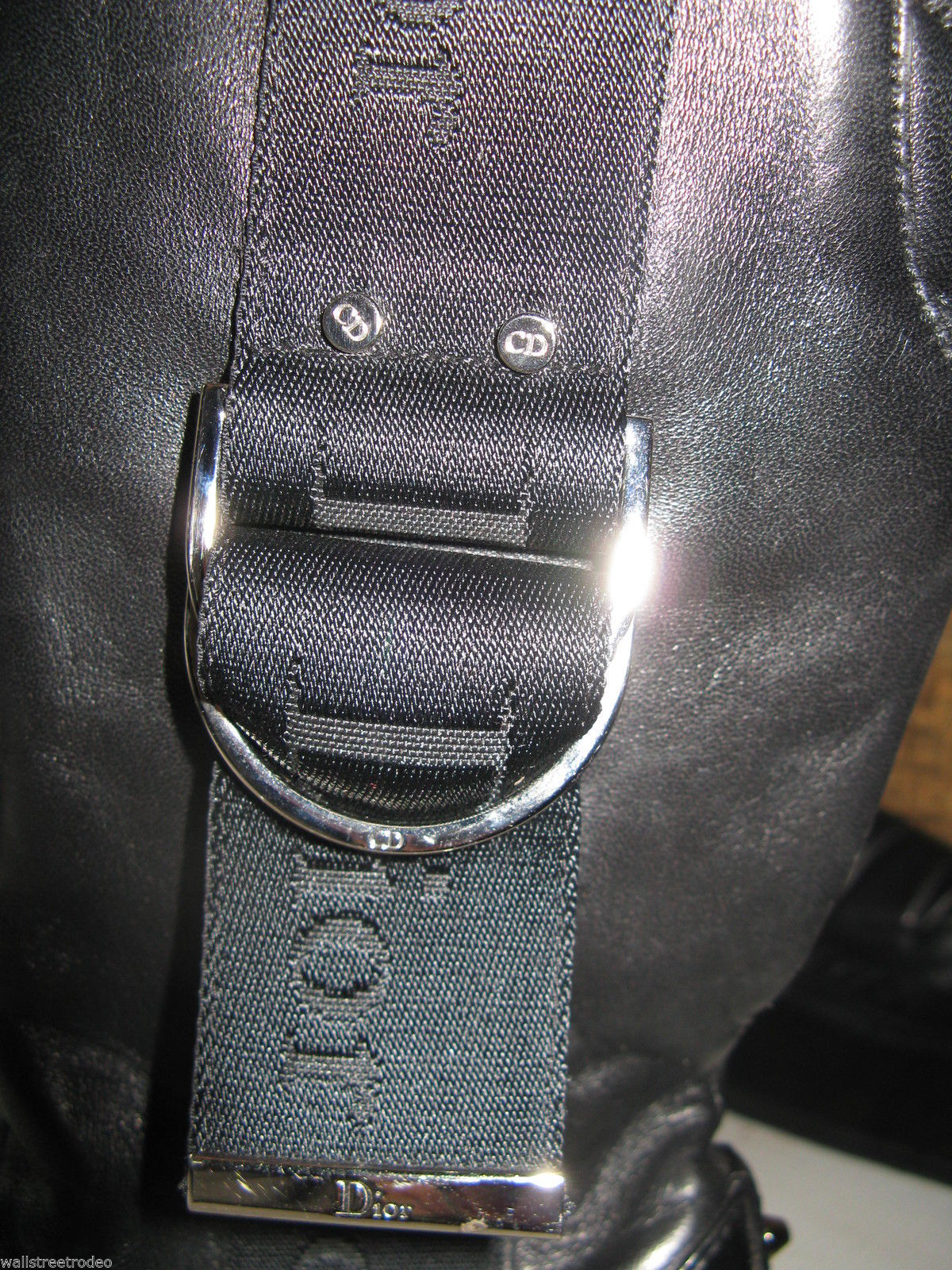 Dior biker logo quilted butter leather motorcylce punk runway boots 6 36 UK3.5 image 8