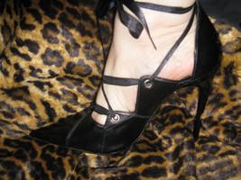Super spiked stiletto heel corset pump shoes 10 UK7.5 39 image 2