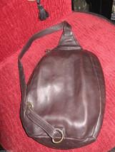 Ellington Portland  leather mini backpack rucksack sling tote handbag purse image 2