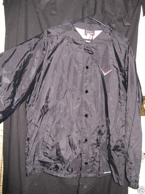 Rock Steady mechanics V8 super sport jacket wind breaker coat rockabilly VLV XL