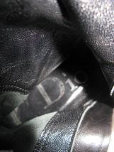 Dior biker logo quilted butter leather motorcylce punk runway boots 6 36 UK3.5 image 9