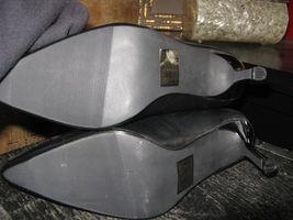 Extra-Fine Sugar punk grunge new wave lightning stiletto heels shoes 7 UK5 38 image 3