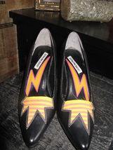Extra-Fine Sugar punk grunge new wave lightning stiletto heels shoes 7 UK5 38 image 5