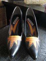 Extra-Fine Sugar punk grunge new wave lightning stiletto heels shoes 7 UK5 38 image 6