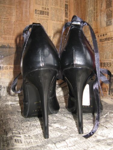 Super spiked stiletto heel corset pump shoes 10 UK7.5 39 image 8