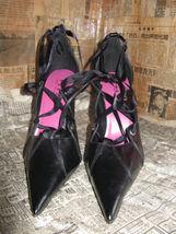 Super spiked stiletto heel corset pump shoes 10 UK7.5 39 image 6